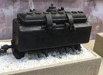 蒸汽机车七孔压油机