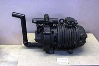 蒸汽机车涡轮发电机