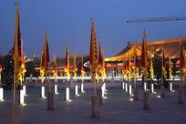 中国风旗帜