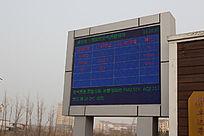 大气环境监测显示