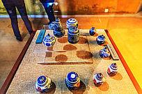 华佗中医药文化博物馆药品瓷器包装罐