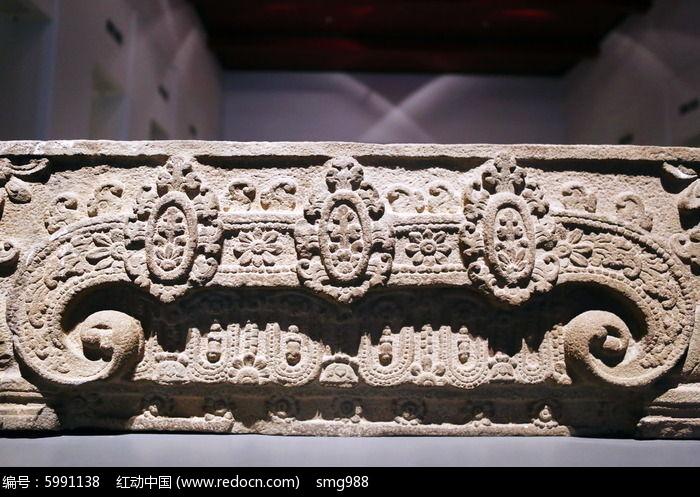 泰国石雕花纹图案图片