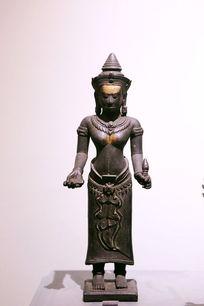 泰国铜雕执法器站姿佛像