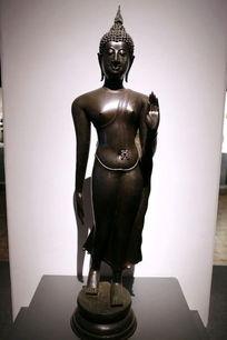 铜雕泰国站姿佛像