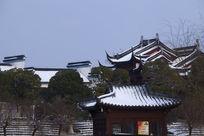 雪后的八大山人广场