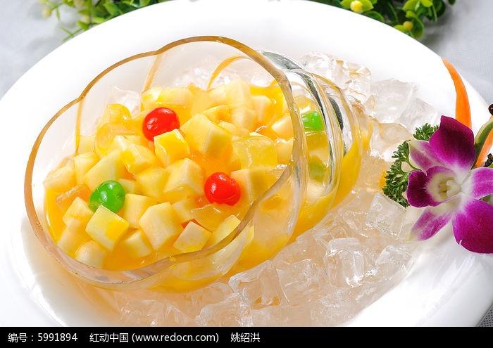 菠萝粒菜图图片,高清大图_中国菜系素材