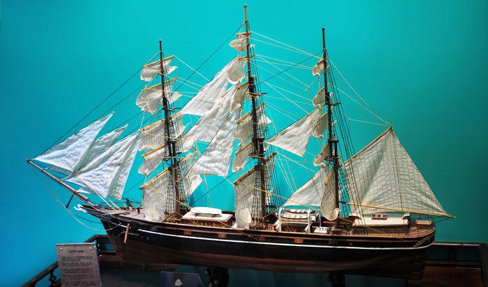 帆船模型图片