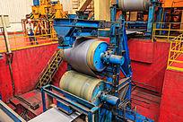 钢板热轧生产线