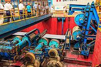 钢板热轧生产线在运行