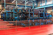 钢板生产车间