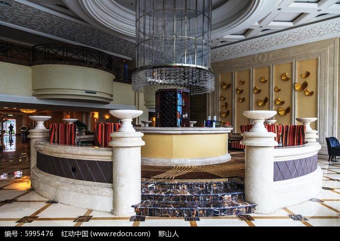 酒店大堂吧台图片,高清大图