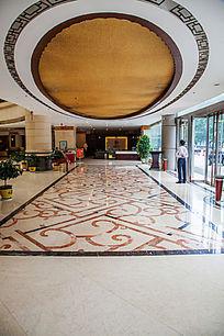 酒店大堂局部
