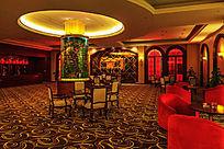 酒店大堂休息厅