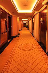 酒店客房楼道走廊