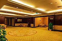 酒店楼层休息间