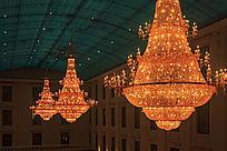酒店宴会厅大型吊灯
