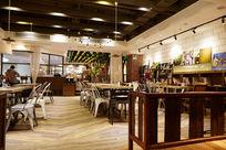 咖啡厅室内环境平视图