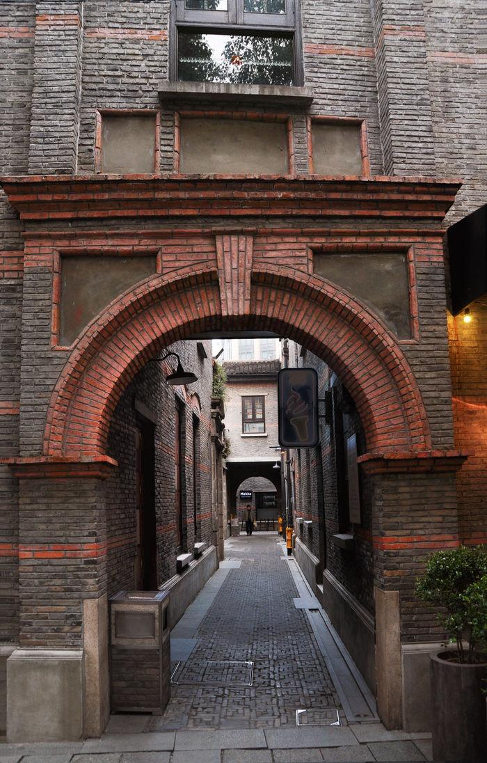 上海新天地石库门图片,高清大图_住宅区素材