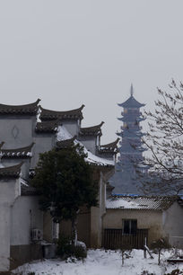 万寿塔前民国旧居