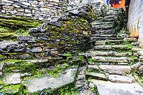 湘西村落石阶