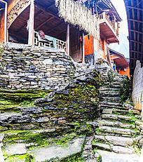 湘西苗寨村落建筑