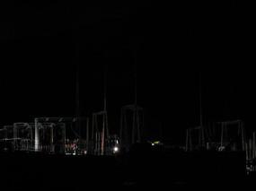变电站夜景