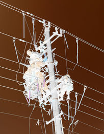 电工高空作业图