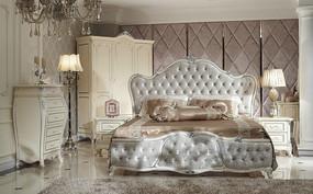 法式卧室家具图片