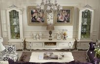 欧式客厅家居装饰图片