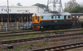 泰国的火车车头