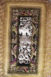 泰国佛纹方巾