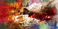 打印喷绘仿真抽象油画图片