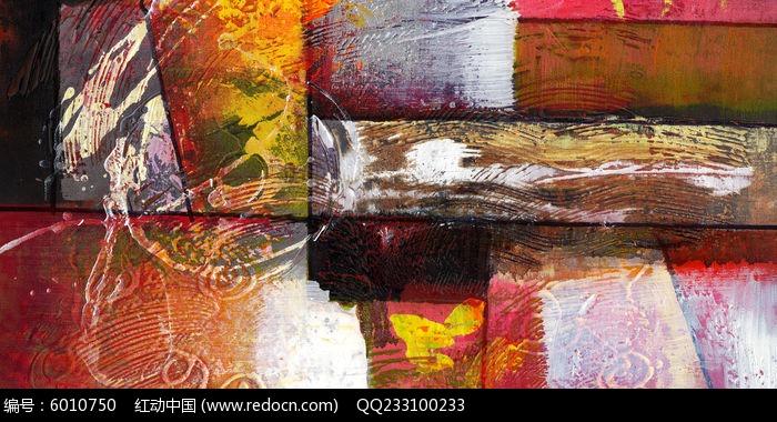 色块抽象油画图片,高清大图_插画绘画素材
