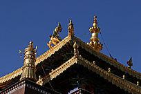 寺庙屋顶装饰