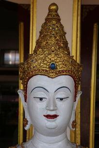 泰国佛像头