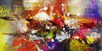现代艺术画高清抽象画
