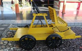 窄轨铁路巡车