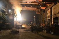 钢铁电解炉铸造生产车间