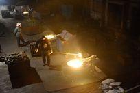 钢铁工业生产车间