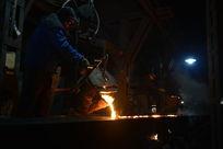 钢铁铸造炼铁水