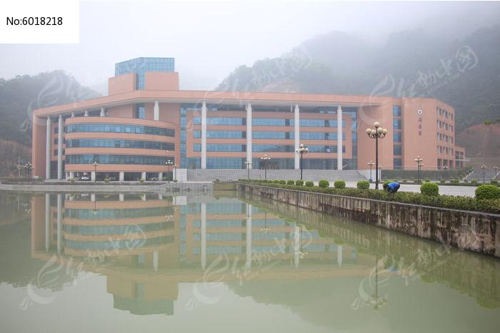 广东药科大学中山校区图书馆高清图片下载 红动网