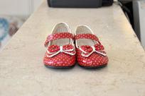 蝴蝶结小鞋正面