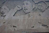 火线入党宣誓雕塑