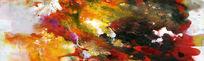 抽象油画图片