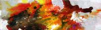 电分高清抽象油画