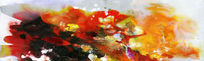 喷绘打印抽象油画图片