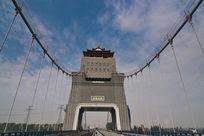 万福大桥桥头堡