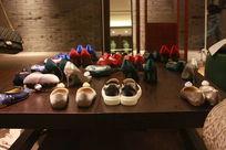 鞋子陈列展示