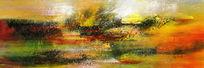 打印喷绘写真抽象油画图片