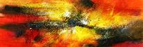 高清抽象油画图片